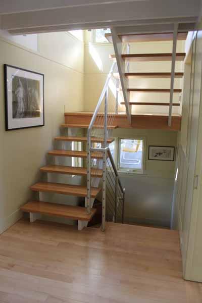 Silver-Stairwell